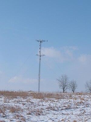 WEOS - Current WEOS tower in Seneca/Gorham