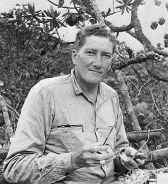 William H. Phelps Jr. - William H. Phelps during the first expedition to the Cerro La Neblina, Jan–Feb 1954