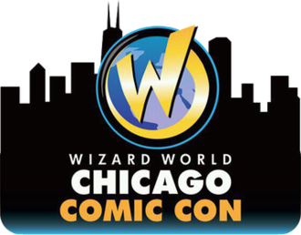 Wizard World Chicago - Image: Wizard World Chicago Logo, 2012