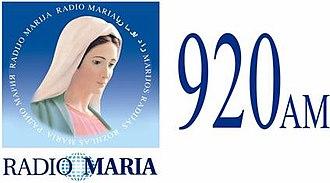 XELT-AM - Image: XELT Radio Maria 920 logo
