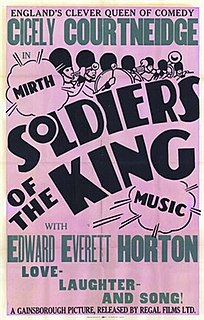 <i>Soldiers of the King</i> (film) 1933 film by Maurice Elvey