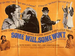 Some Will, Some Won't - British theatrical poster