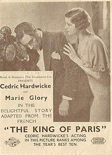 """""""La reĝo de pariza"""" (1934).jpg"""