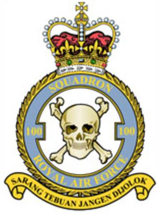 No. 100 Squadron RAF - Image: 100 Squadron RAF crest