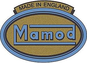 Mamod - Image: 1940 Mamod mark