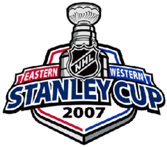 The Official Logo for the 2007 NHL Stanley Cup playoffs.