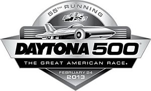 2013 Daytona 500 - Image: 2013 Daytona 500 logo