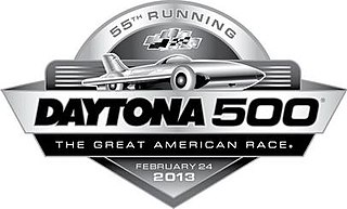 2013 Daytona 500 auto race held at Daytona, United States in 2013