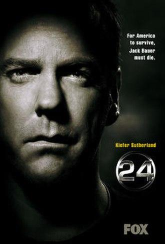 24 (season 6) - Promotional poster
