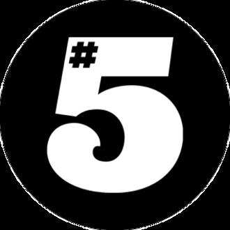 5 Magazine - Image: 5 Magazine logo 1