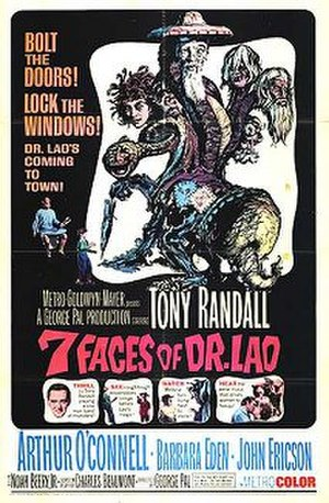 7 Faces of Dr. Lao - Theatrical release poster by Joseph Smith