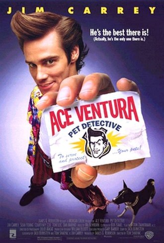 Ace Ventura: Pet Detective - Theatrical release poster
