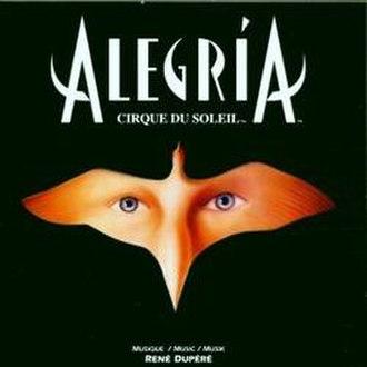 Alegría (Cirque du Soleil) - The original album artwork of Alegría, 1994.