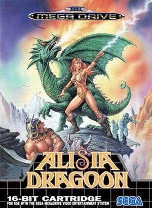 Alisia Dragoon - European cover art