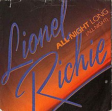 Lionel Richie — All Night Long (All Night) (studio acapella)