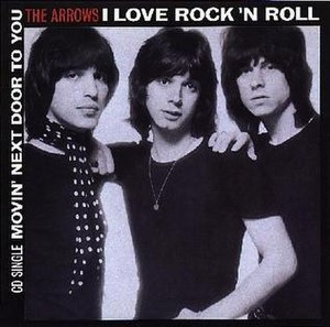 I Love Rock 'n' Roll - Image: Arrows I Love Rock n Roll