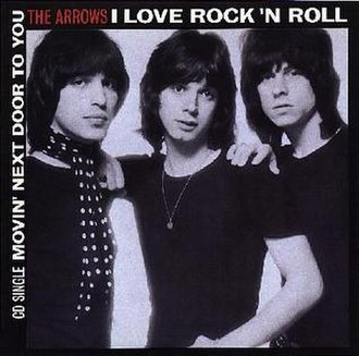 Arrows (British band) - Image: Arrows I Love Rock n Roll