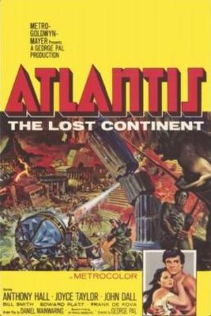 Atlantis, the Lost Continent - Theatrical release poster
