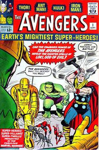 The Avengers (comic book) - Image: Avengers 1