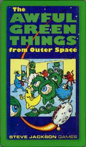 The Awful Green Things from Outer Space - AGTFOS Pocket Box cover