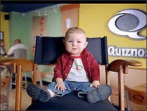 Baby Bob - Baby Bob as Quizno's television pitchman