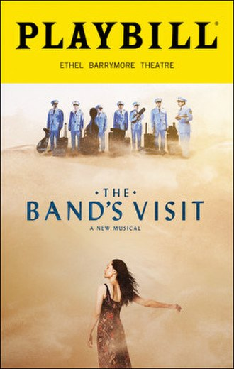 The Band's Visit (musical) - Playbill for the Broadway production