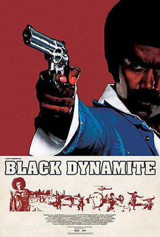 Black Dynamite - Theatrical release poster