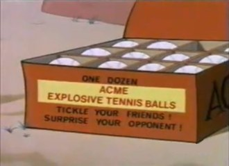 Acme Corporation - An example of an Acme product from a Road Runner cartoon
