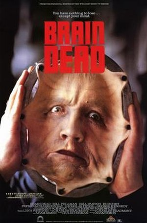 Brain Dead (1990 film) - Movie poster