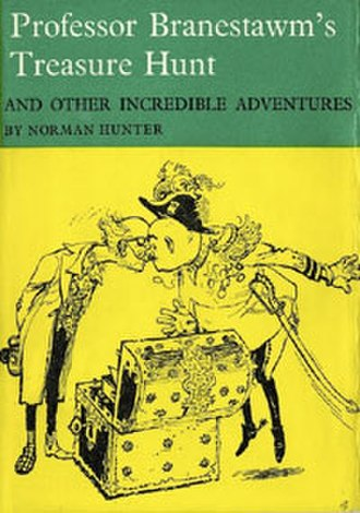 Professor Branestawm - Professor Branestawm's Treasure Hunt, the second book in the series, shown here in its 1966 edition with jacket drawing by George Adamson