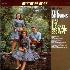 Browns Sing the Big Ones from Country - Image: Browns Sing the Big Ones from Country