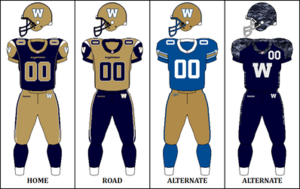 2014 Winnipeg Blue Bombers season - Image: CFL WPG Jersey 2014