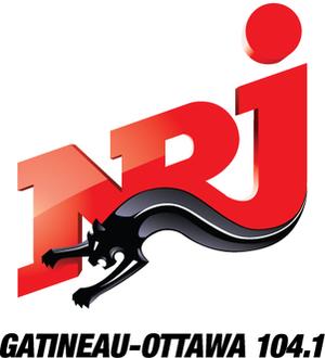 CKTF-FM - Logo under NRJ branding, 2010-2015