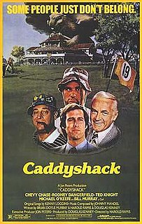 <i>Caddyshack</i> 1980 American sports comedy film directed by Harold Ramis