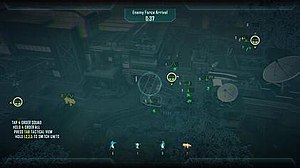 Call of Duty: Black Ops II - Tactical view in a Strike Force mission