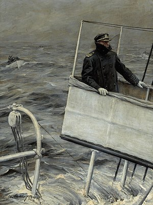 Anton Otto Fischer - Image: Captain at Sea