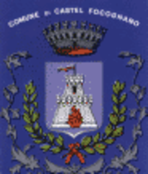 Castel Focognano - Image: Castel Focognano Stemma