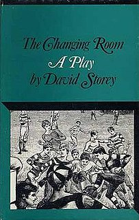 <i>The Changing Room</i> play written by David Storey