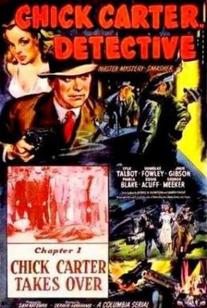 Chick Carter, Boy Detective - Poster for Chick Carter, Detective film serial