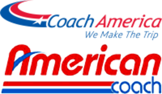 Coach America - Image: Coach America American Coach logo