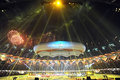 2010 Commonwealth Games closing ceremony