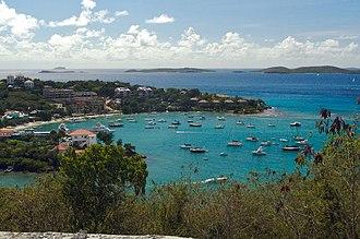 Cruz Bay, U.S. Virgin Islands - Cruz Bay Harbor.