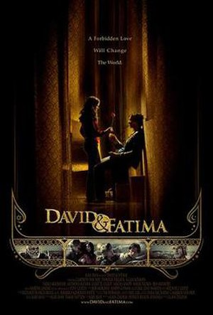 David & Fatima - Theatrical release poster