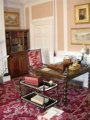 Hughenden Manor - Disraeli's first floor study