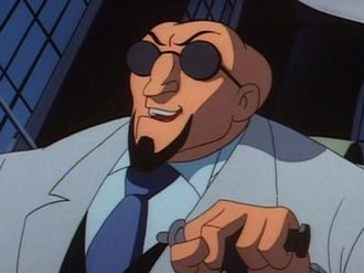 Hugo Strange - Hugo Strange in Batman: The Animated Series.