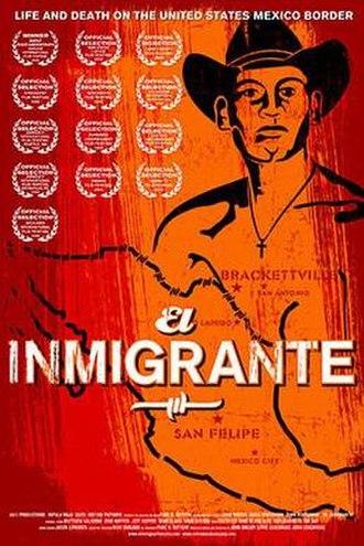 El Inmigrante - Image: El Inmigrante Film Poster