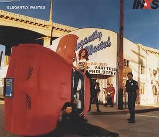 Elegantly Wasted (song) 1997 single by INXS