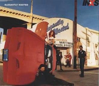 Elegantly Wasted (song) - Image: Elegantly Wasted single