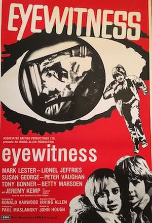 Eyewitness (1970 film) - DVD cover
