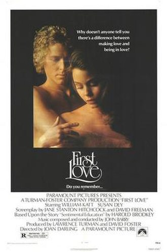First Love (1977 film) - Theatrical release poster